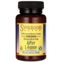 Swanson AjiPure L-Arginina 500 mg 60 kapsułek (0087614024547)