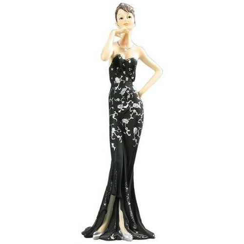 Figurka Art Deco Broadway Belles w czarnej sukni