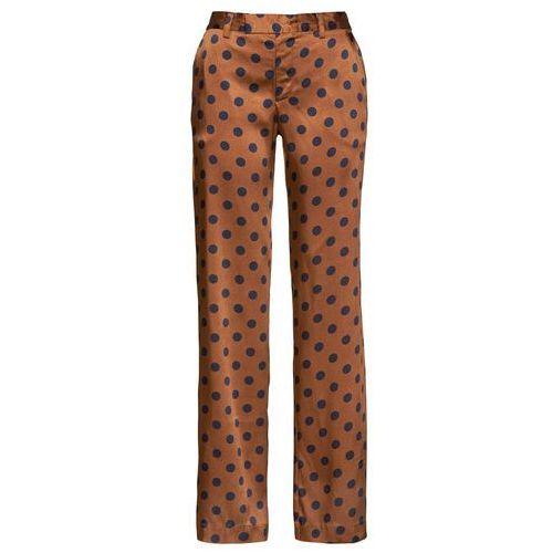 Bonprix Luźniejsze spodnie shirtowe czarny