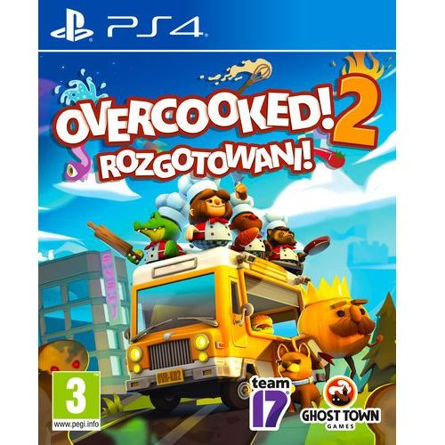 Overcooked: gourmet edition (ps4) marki Team17