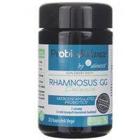 ProbioBalance Rhamnosus GG Mikrokapsułkowany probiotyk 1 szczep 5 mld bakterii 30 kapsułek Aliness (5903242580345)