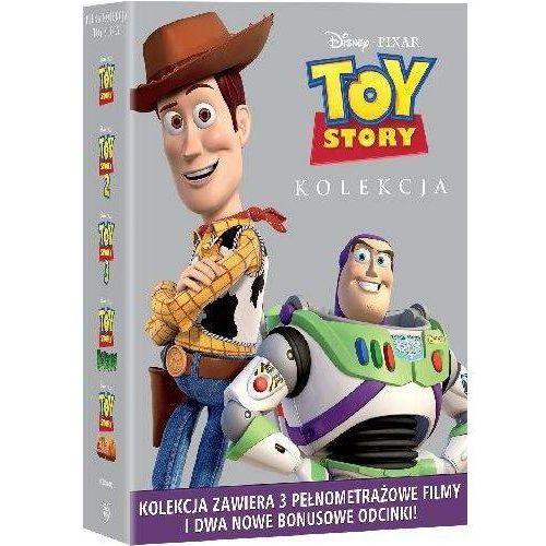 Toy Story, Pakiet Specjalny (3 filmy i odcinki bonusowe) (4 DVD)