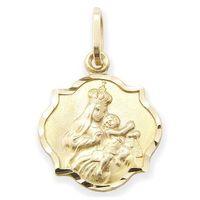Węc-twój jubiler Medalik z wizerunkiem matki bożej - 22537