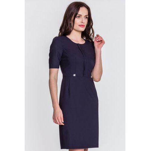 05e3af88e4 Zobacz ofertę Granatowa sukienka - Vito Vergelis