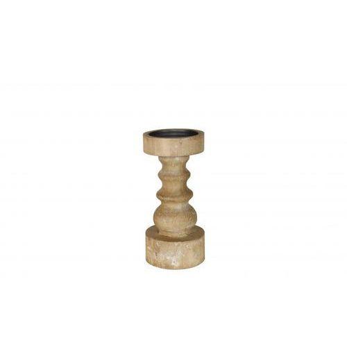 Be Pure Świecznik SHAPES drewniany mały 800534-B, 800534-B