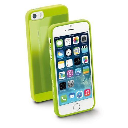 25a1f995f9c853 CELLULAR LINE Elastyczne gumowe etui na tył i boki telefonu do iphone5;  kolor zielony Cellular line
