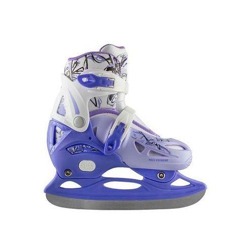 Nh0320 a niebieskie rozm. s (31-34) łyżwy hokejowe Nils extreme