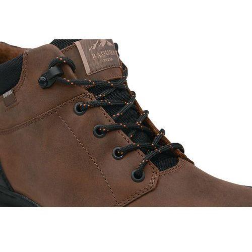 809976aa Badura Trzewiki zimowe 4654-074 felpa brązowe botki ocieplane - brązowy -  foto produktu