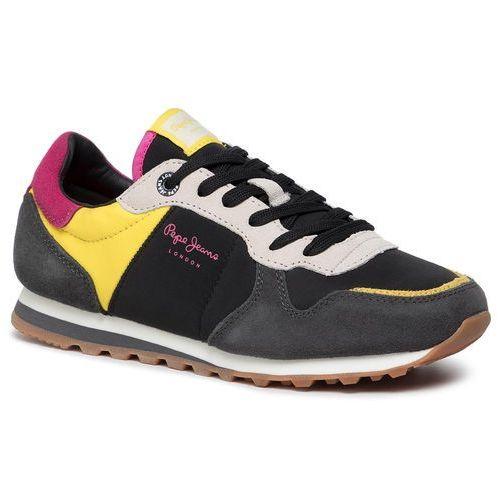 Sneakersy - verona w traveller pls30901 black 999 marki Pepe jeans