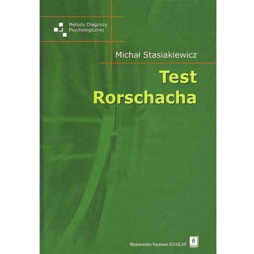 Test Rorschacha, Scholar