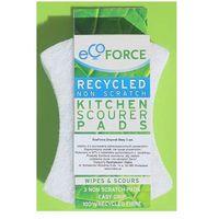 Eco force zmywak ostry biały sztuk 3 marki Ecoforce