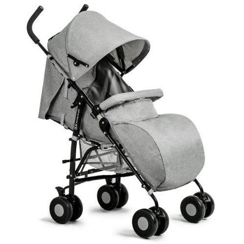 Kinderkraft Wózek spacerowy rest z pozycją leżącą i akcesoriami szary i darmowy transport