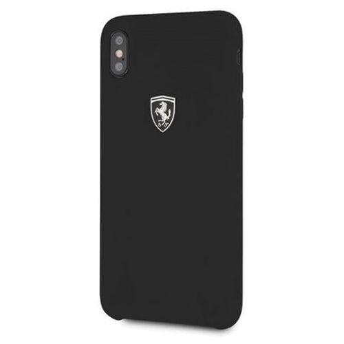 Ferrari hardcase feosihci65bk iphone xs max czarny/black silicone off track (3700740439265)
