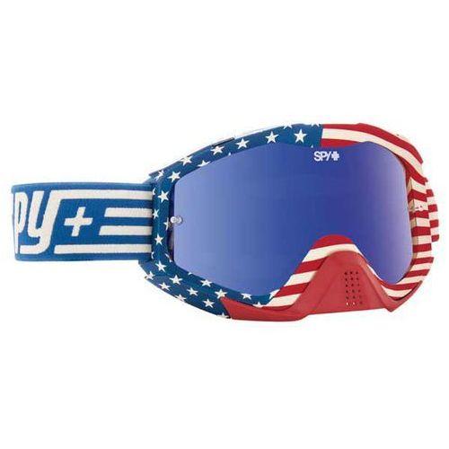 Spy Gogle narciarskie klutch vintage usa - smoke w/ dark blue spectra + clear afp