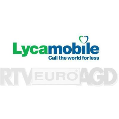 Zestawy startowe i doładowania Lycamobile