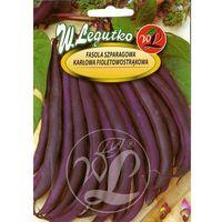 Fasola zwykła szparagowa karłowa fioletowostrąkowa Purple Teepee 30+10g Gratis