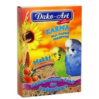 Dako-art makki - pełnowartościowy pokarm dla papużek falistych 25kg (5906554301172)