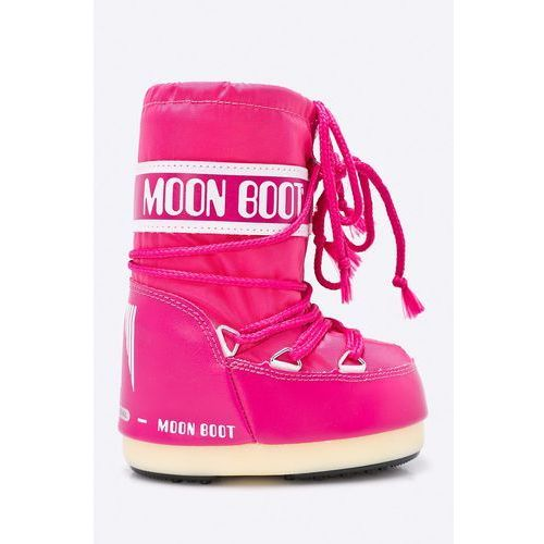 - śniegowce dziecięce nylon bouganville marki Moon boot