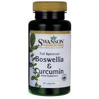 Kapsułki Swanson Full Spectrum Boswellia & Curcumin (Kurkuma) 60 kaps.