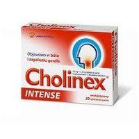Tabletki CHOLINEX INTENSE X 20 tabletek miód-cytryna