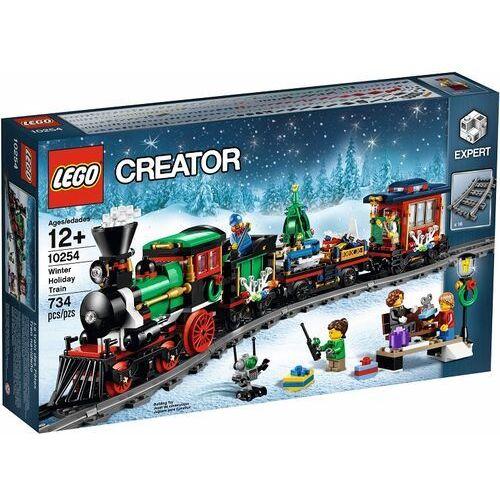 Lego CREATOR Świąteczny pociąg 10254 wyprzedaż