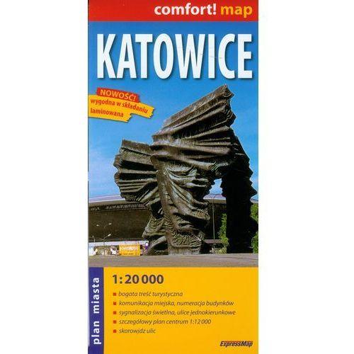 Katowice plan miasta 1:20 000 (2014)