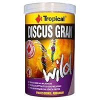 Tropical discus gran wild - pokarm dla dzikich dyskowców 1000ml/440g - 1000ml/440g