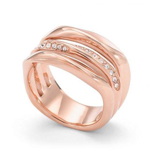 Biżuteria Fossil - Pierścionek JF01321791503 160 Rozmiar 10 - SALE -30%, kolor czerwony