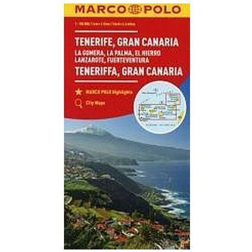 Mapa Marco Polo - Teneryfa 1:150 000 w.2017 - Praca zbiorowa, oprawa broszurowa