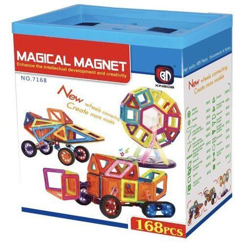Magical Magnet 168 el. - Klocki magnetyczne