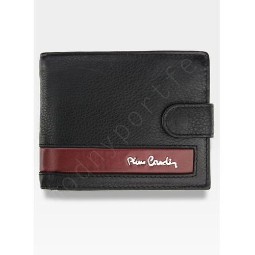 797b2c21aec36 Zobacz ofertę Pierre cardin Dobry portfel męski gentleman tilak26 324a rfid  - czarny + czerwony