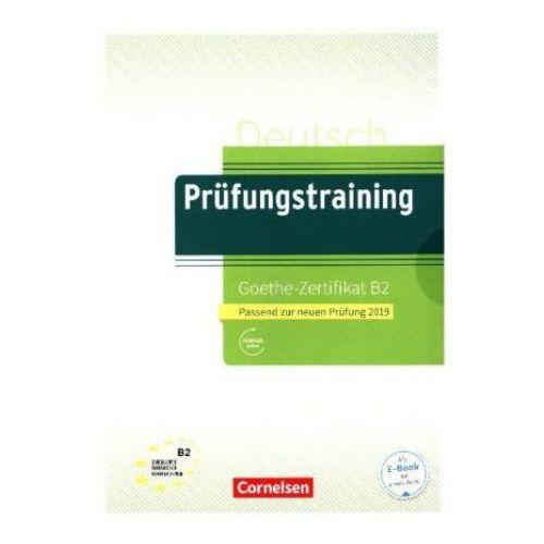 Prufungstraining DaF Goethe-Zertifikat B2 + Audio online, oprawa miękka