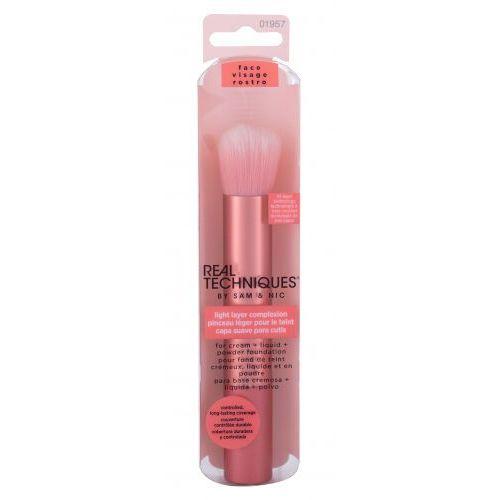 Real techniques brushes light layer complexion pędzel do makijażu 1 szt dla kobiet - Sprawdź już teraz