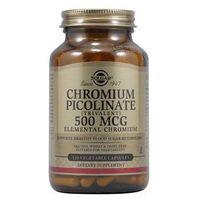 SOLGAR Pikolinian Chromu 500mcg - 120 kapsułek wegetariańskich