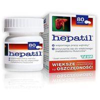 Tabletki HEPATIL x 80 tabletek