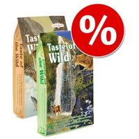 Mieszany dwupak Taste of the Wild, 2 x 7 kg - 2 smaki| Darmowa Dostawa od 89 zł i Super Promocje od zooplus!