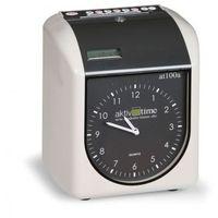 Zegar do rejestracji czasu pracy - analogowy, kolor Zegar
