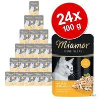 MIAMOR saszetka Filet 100g - Tuńczyk / kalmary