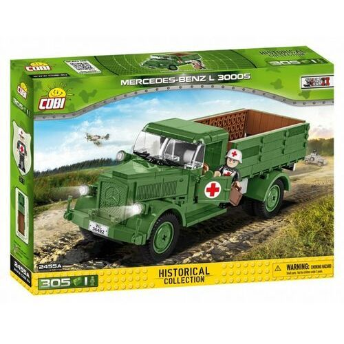 Klocki Cobi Small Army Mercedes Benz L3000