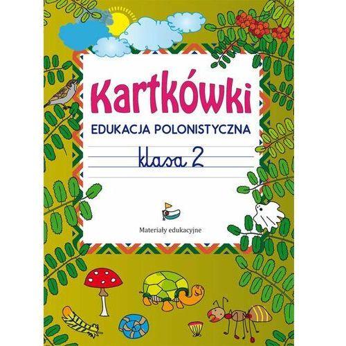 Kartkówki Edukacja polonistyczna Klasa 2 - Beata Guzowska, Literat