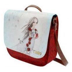 Mirabelle - torba z klapą - rose tea marki Santoro