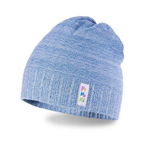 Wiosenna czapka dziewczęca PaMaMi - Jasnoniebieski - Jasnoniebieski (5902934023580)
