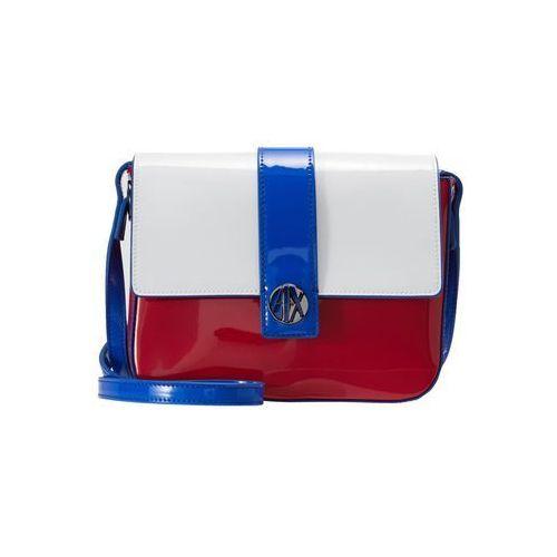 Armani Exchange MESSENGER BAG Torba na ramię red/white/blue