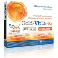 Olimp Gold-Vit D3 Plus K2 30 kaps. 053191