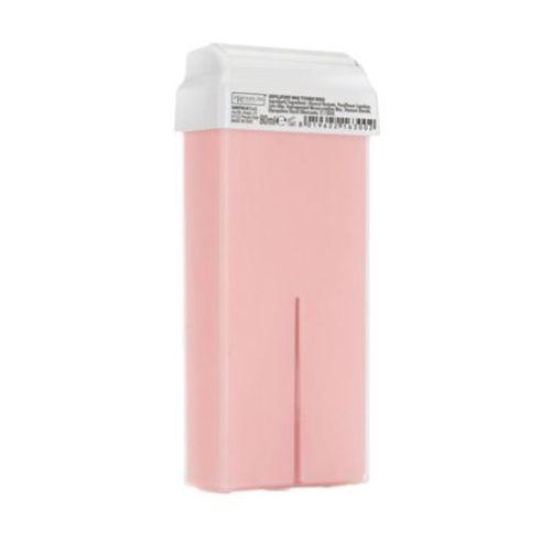 Gel epi rosa wosk do depilacji z szeroką rolką (różany) Premium textile