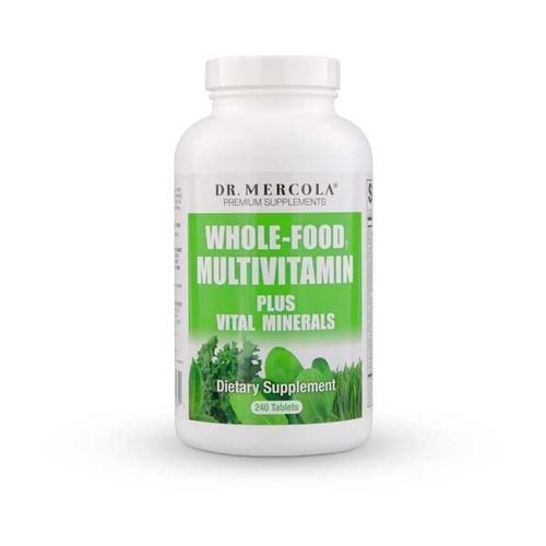 Kenay Dr Mercola Multiwitaminy dla dorosłych 240tabs - suplement diety