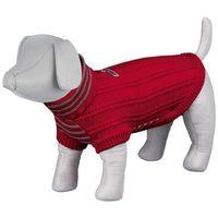 (bez zařazení) Ubranko piave sweterek z uchwytem na smycz - długość 21cm (obwód 23cm)