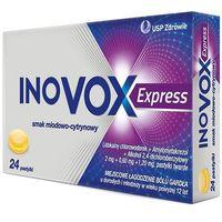 Inovox Express smak miodowo-cytrynowy, pastylki do ssania 24 szt. (5909991241384)
