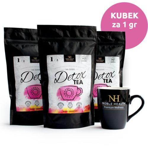 Zestaw 3x Detox Tea na dzień + Kubek
