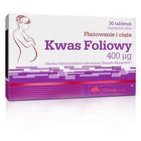 Tabletki Olimp Kwas Foliowy 400ug 30 tabl.